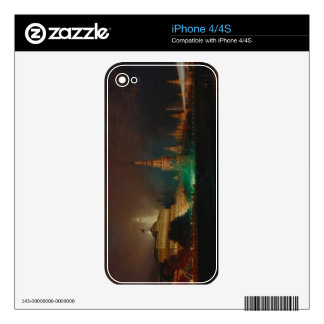 Illumination of the Kremlin, 1883 (oil on canvas) Decal For The iPhone 4S