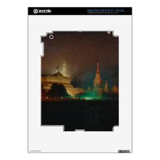 Illumination of the Kremlin, 1883 (oil on canvas) Skins For iPad 3