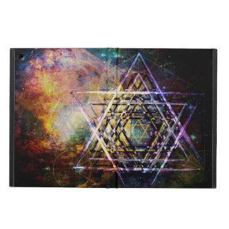 """Illumination"" sacred geometric hexagram iPad Air Cases"