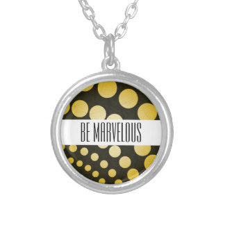 Illumination Silver Plated Necklace