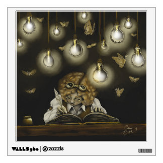 """Illumination"" wall decal"