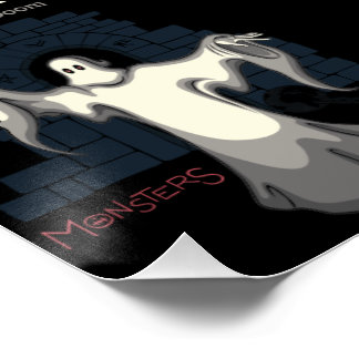 ILLUMINATUS, ghost of doom. (monsters series) Poster