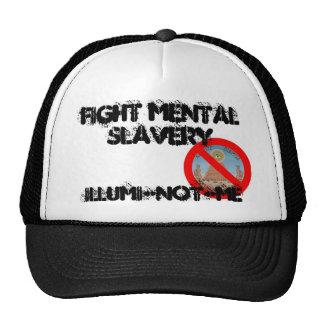 illuminotme, FIGHT MENTAL SLAVERY, ILLUMI-NOT-ME Trucker Hat