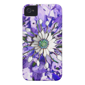 Illuminous Flower iPhone 4 Cover