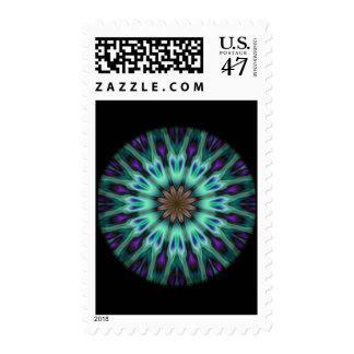 Illuminous Spirograph Postage