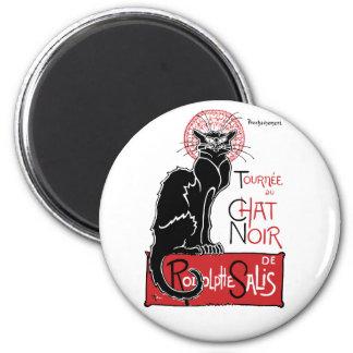 Illus Le Chat Noir Imán Redondo 5 Cm
