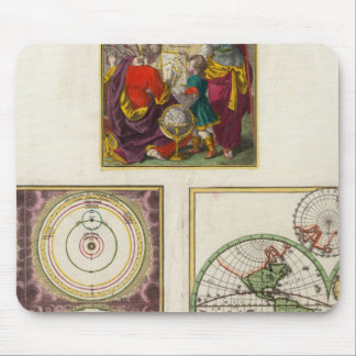 Illus Title Page Solar system, Charte vom Globo Mouse Pad