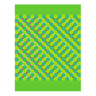 illusion-11 postcard