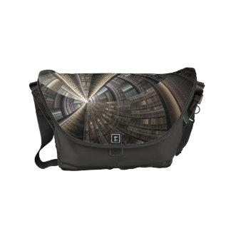 Illusion City Small Messenger Bag