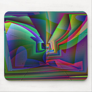 Illusion,  Designs By Che Dean Mouse Pad