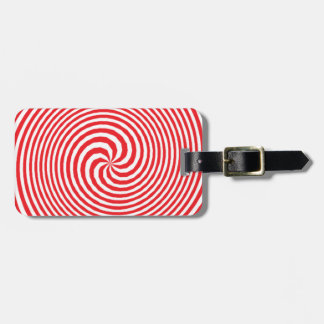 illusion luggage tag