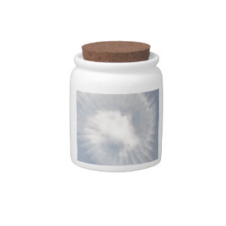 Illusion Of A Cloud Candy Dish