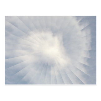Illusion Of A Cloud Postcard