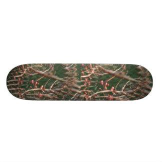 Illusion Of A Tree Fractal Skateboard