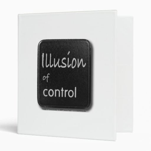 Illusion of Control Button Avery Binder