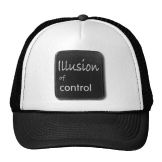 Illusion of Control Button Hat
