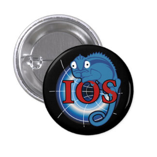 Illusion of Solitude Badge Pinback Button