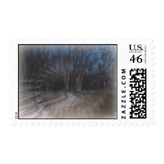 Illusion Of The Gothic Woods Postage