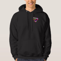 Illusion of the Hearts by Kenneth Yoncich Hoodie