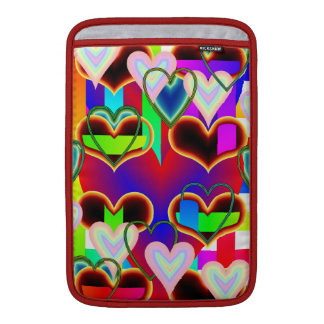 Illusion of the Hearts by Kenneth Yoncich MacBook Sleeve