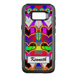 Illusion of the Hearts by Kenneth Yoncich OtterBox Commuter Samsung Galaxy S8+ Case