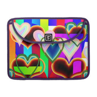 Illusion of the Hearts by Kenneth Yoncich Sleeve For MacBooks