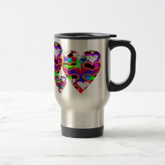 Illusion of the Hearts by Kenneth Yoncich Travel Mug
