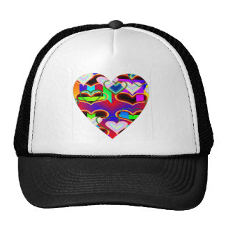 Illusion of the Hearts by Kenneth Yoncich Trucker Hat
