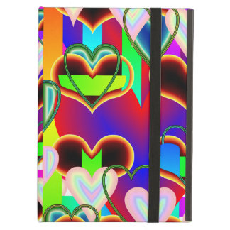 Illusion of the Hearts iPad Case with Kickstand