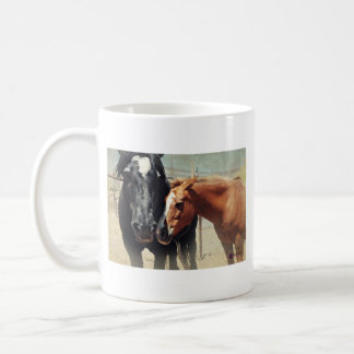 Illusion & Rush Classic White Coffee Mug