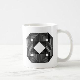 Illusion Square Mugs