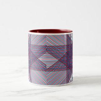 Illusion Star Two-Tone Mug