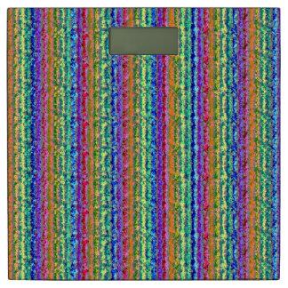 Illusional Lighter Rainbow Bathroom Scale