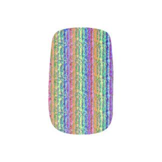 Illusional Lighter Rainbow Fingernail Decals