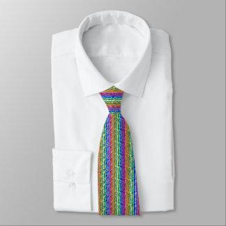 Illusional Lighter Rainbow Neck Tie