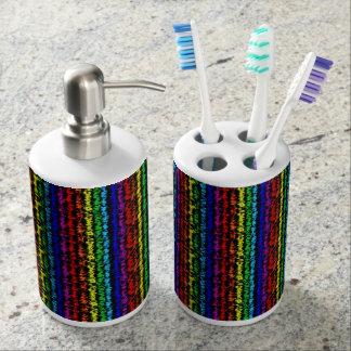 Illusional Rainbow Bath Set