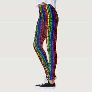 Illusional Rainbow Leggings