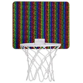 Illusional Rainbow Mini Basketball Hoop