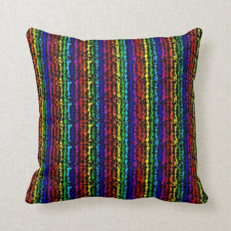 Illusional Rainbow Pillow