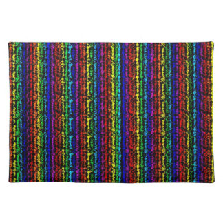 Illusional Rainbow Placemat