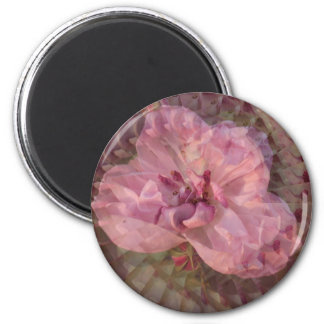Illusionary Heaven on Earth Rose Refrigerator Magnet