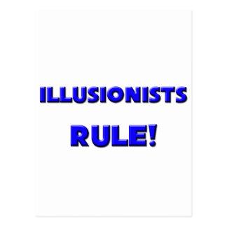 Illusionists Rule Post Card