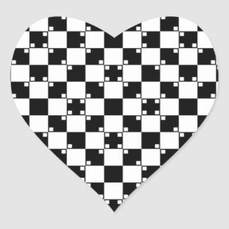 Illusions collection. Item 4 Heart Sticker
