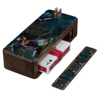 Illusions Wood Cribbage Board