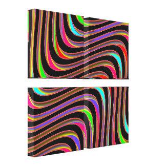 Illusions - Wrapped Canvas Print - SRF