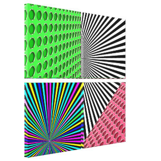 Illusions - Wrapped Canvas Print - SRF