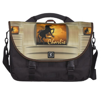 Illusive Stallion Laptop Messenger Bag