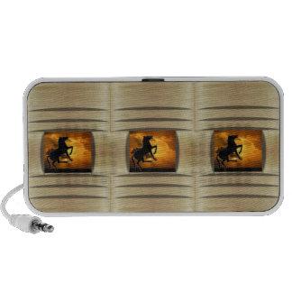 Illusive Stallion iPod Speakers
