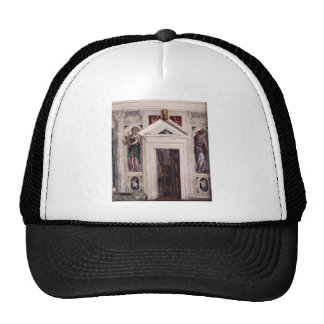 Illusory Door by Paolo Veronese Trucker Hat