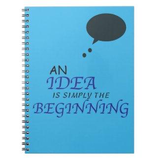 Illustrate An Idea Notebook